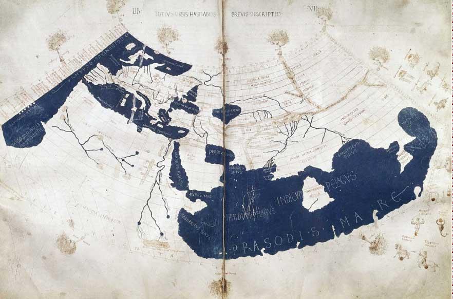ptolemaus-weltkarte