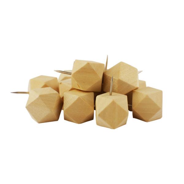 kubisch-oktaedrische Holzkopfstifte
