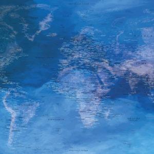 Wanddekoration Weltkarte – Heraklion