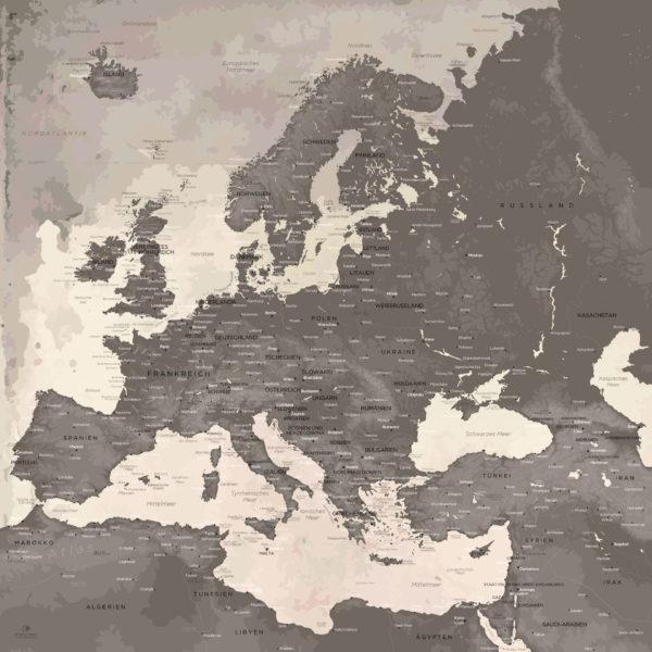 Dekorative_Europakarte
