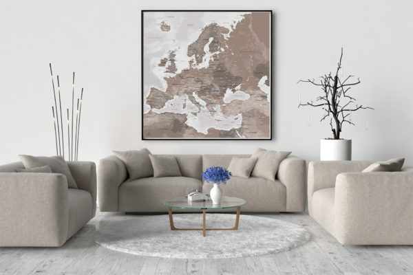 Europakarte_Kontinent-Original_Map