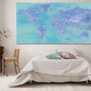 Originelle Planisphäre – Bora-Bora