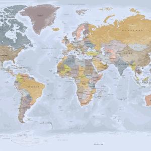 Komplette Weltkarte – Angkor
