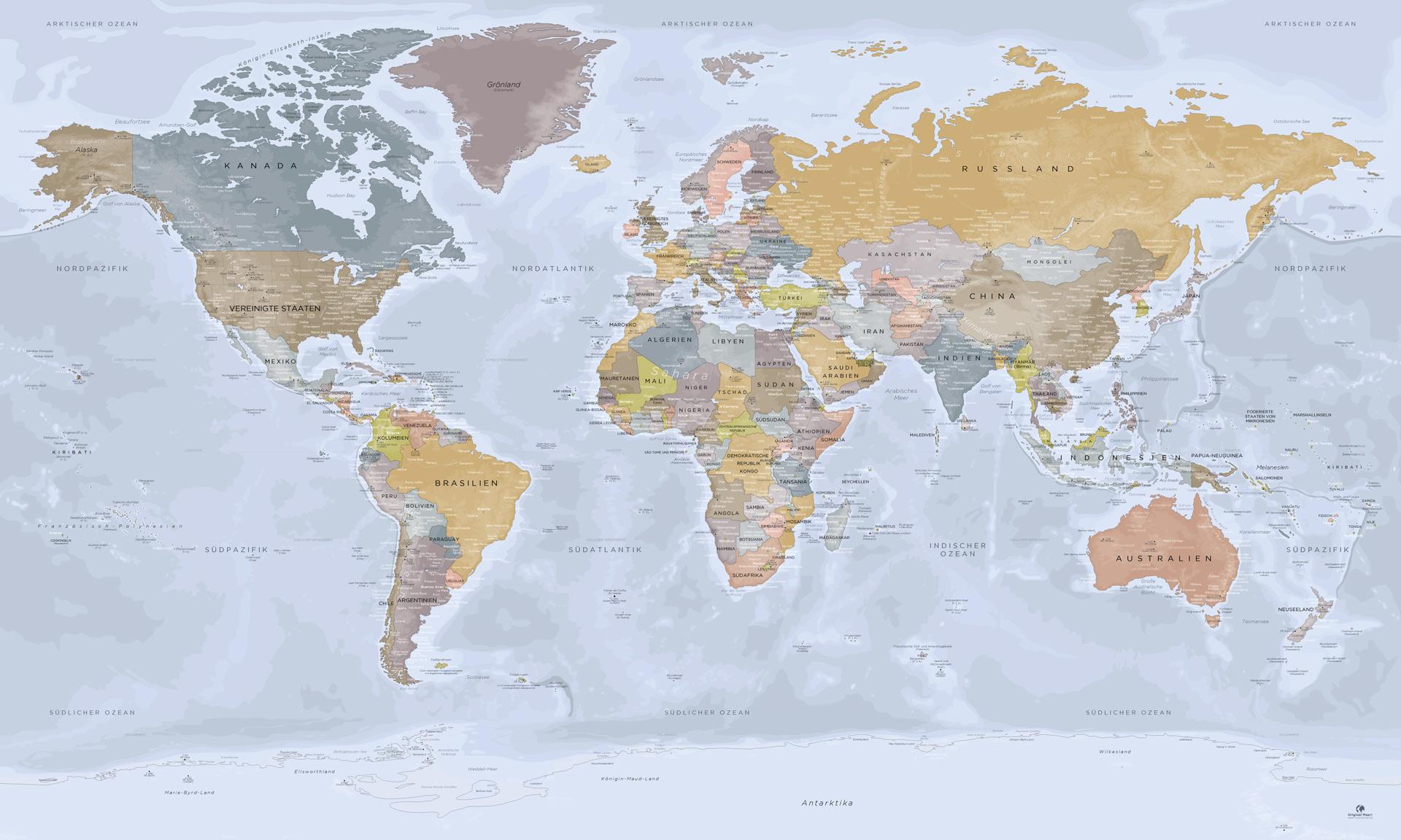 Komplette Weltkarte Detailplan Weltkarte Mit Der Antarktis