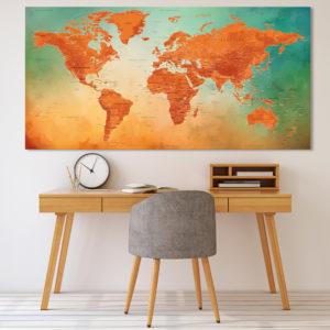 Planisphärenbild – Vesuv