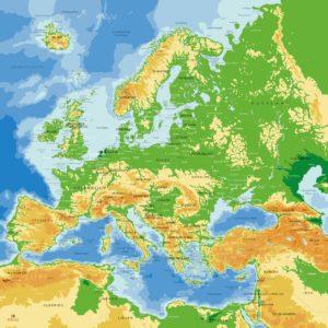 Europakarte