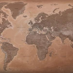 Schöne Weltkarte – Luxor