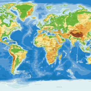 Komplette Antarktik Weltkarte – Agora