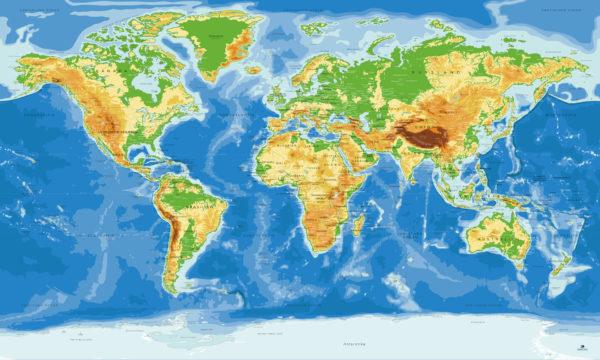 Weltkarte-Planisphare-Antarktis_Original-Map
