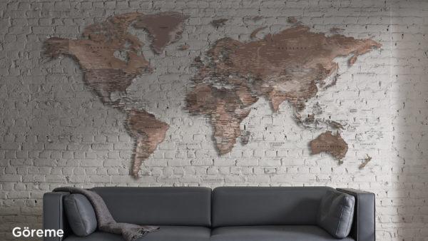 Mappa Mundi Transparentes Plexiglas