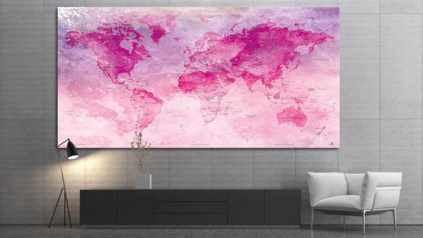 Weltkartenmalerei-poster_Original-Map_04