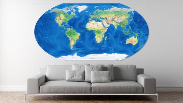 Winkel-Tripel-Weltkarte
