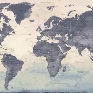 XXL Weltkarte – Naïca