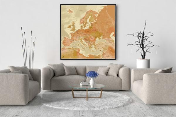 XXL_Europakarte-Original_Map