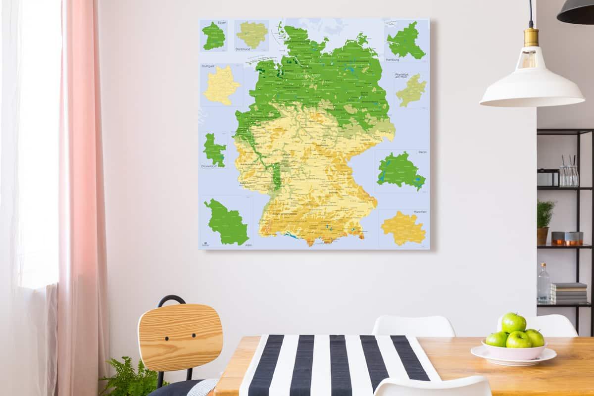 Deutsch-karte-lander
