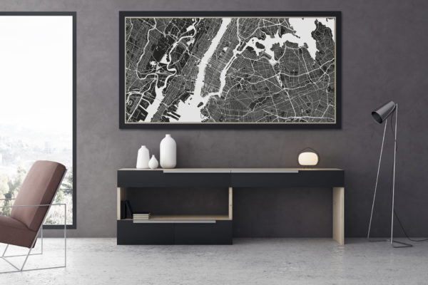 New-York-Karte