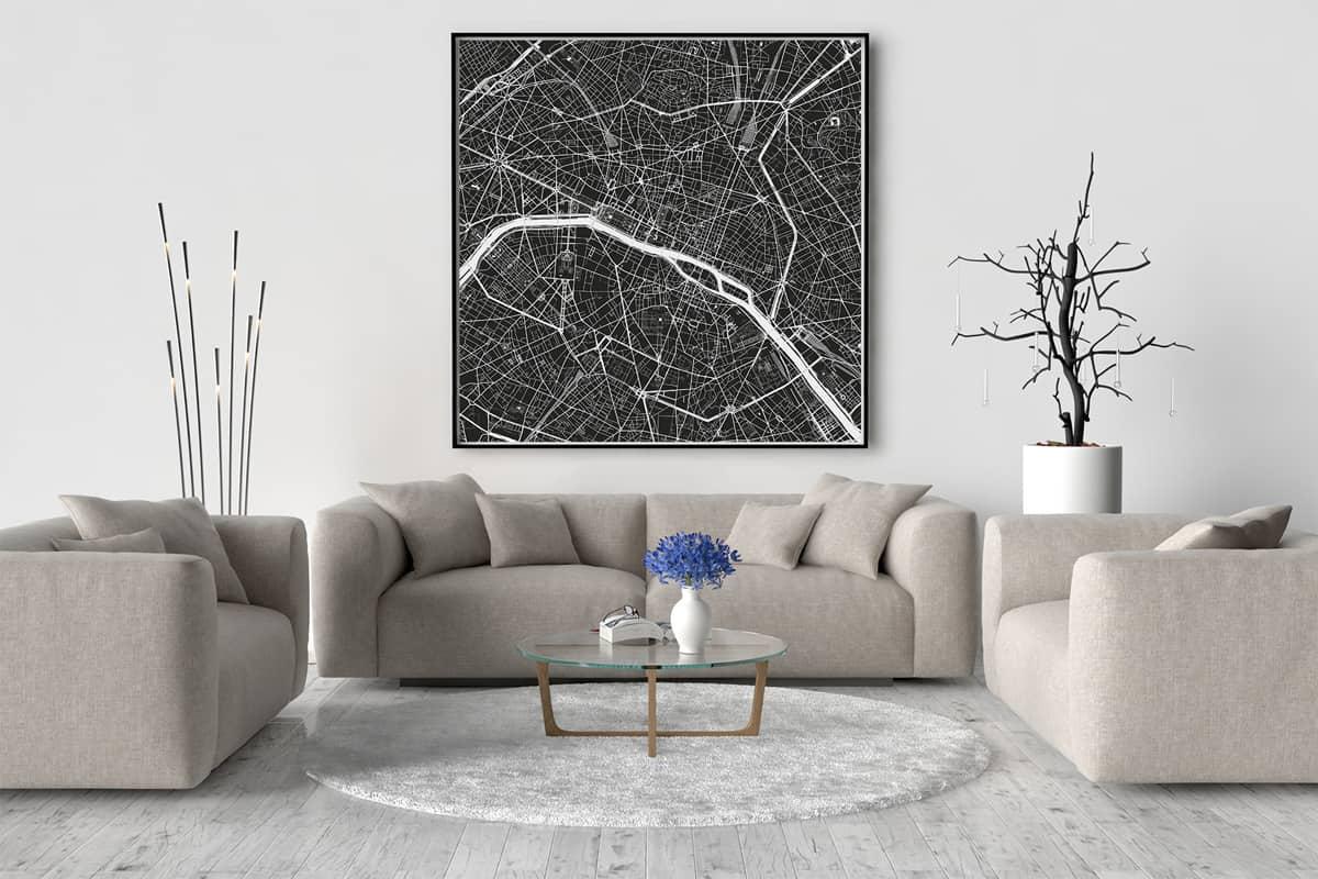 Paris-Karte