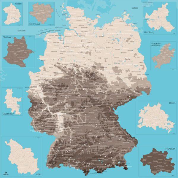XXL_Deutschlandkarte